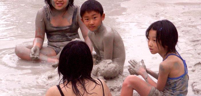 Mud onsen