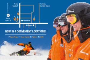 NBS rental retail ski snowboard school Niseko