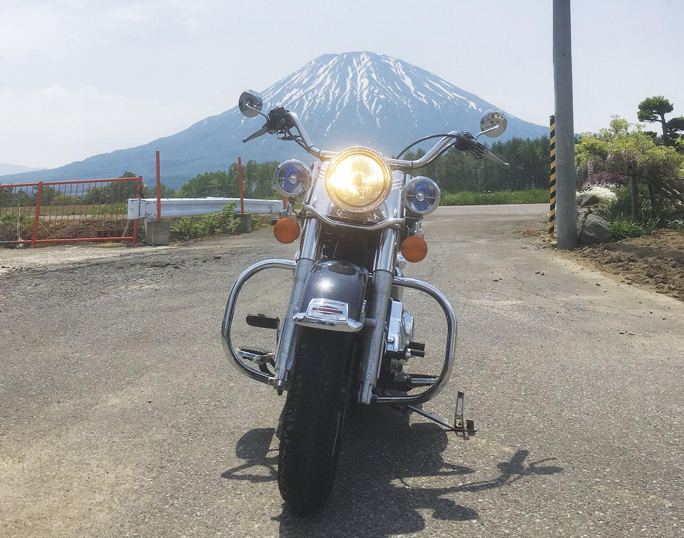yotei hokkaido motorbike