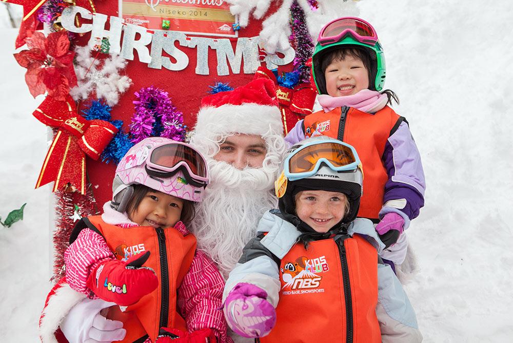 Christmas and New Year in Niseko Santa